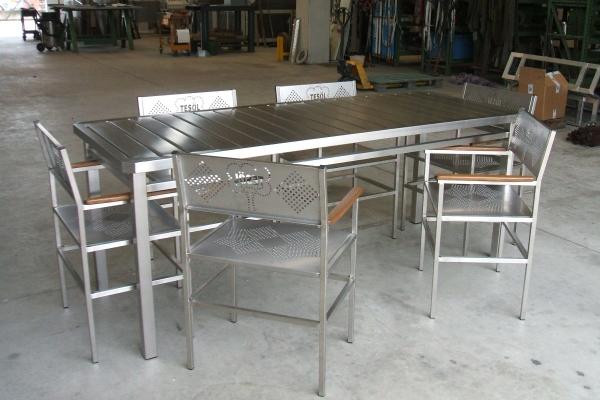 Cmi snc cmi bergamo macchine per il finissaggio for Arredamento acciaio inox